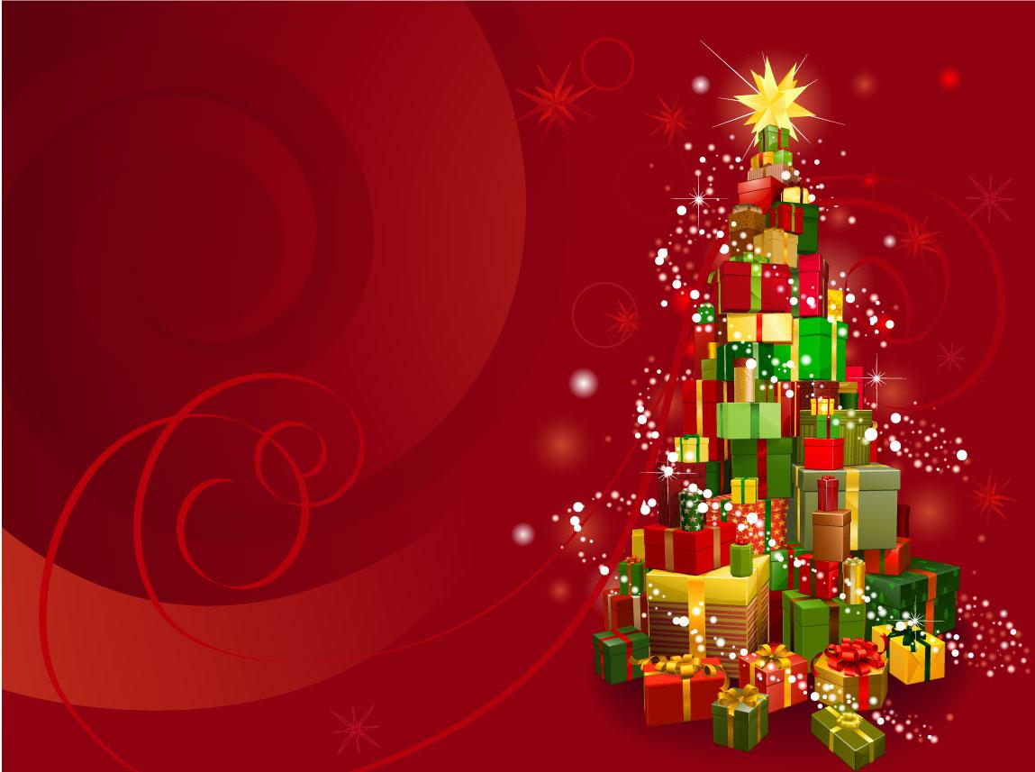 Albero di natale con regali christmas tree gifts for Sito regali gratis