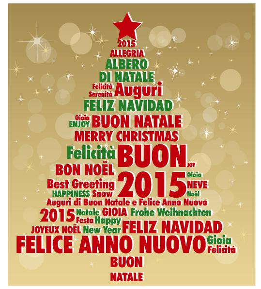 Auguri albero di natale christmas greeting card - Albero di natale stampabili gratis ...