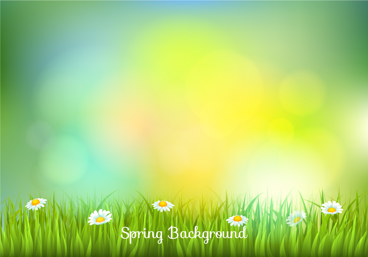 Sfondo sfocato primavera blurred spring background for Sfondi desktop gratis primavera