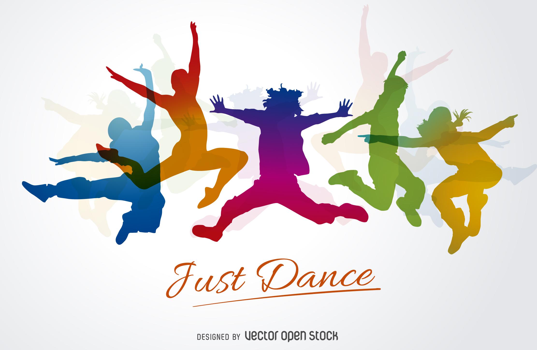 Sagome Ballerini Dance Silhouettes Vettoriali Gratis