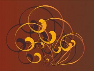 decorazione con spirali – swirly ornament_1