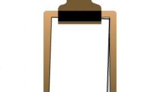 blocco per appunti – clipboard
