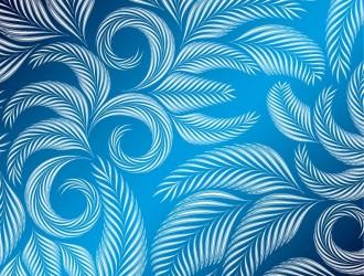 pattern con foglie – leaves pattern_1