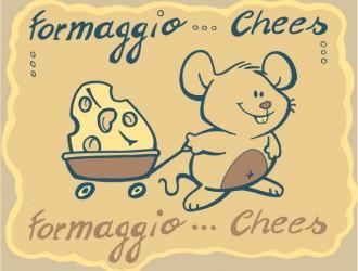 Topo con formaggio – mouse with cheese