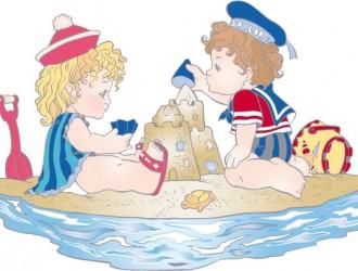 bambini al mare – children at sea