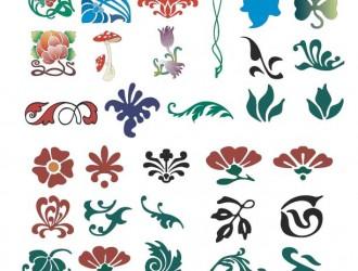 decorazioni floreali – floral ornaments