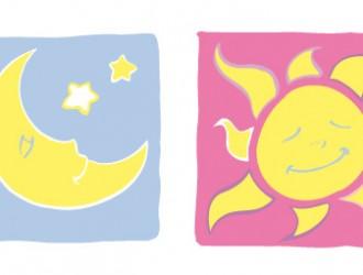 luna e sole – moon and sun