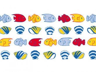 pesci e conchiglie – fishes and shells