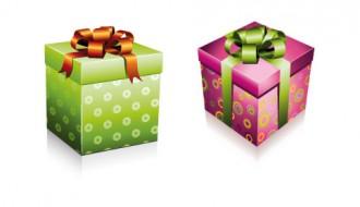 scatole regalo quadrate – square gift boxes