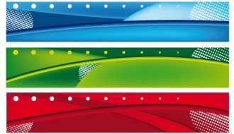 banner astratti – abstract banner