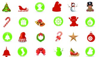 icone natalizie – Christmas icons