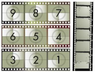 pellicole cinematografiche – movies vectors