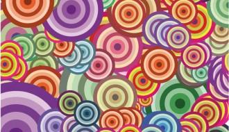sfondo con cerchi – background with circles_1