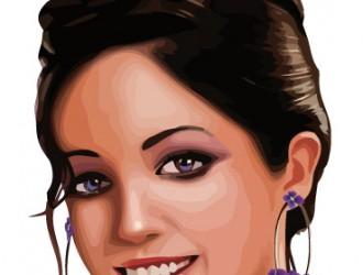 volto di donna – woman's face