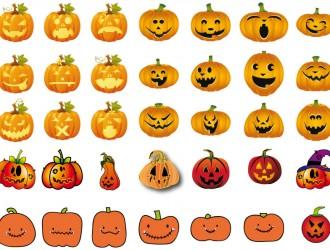 zucche di Halloween – pumpkins