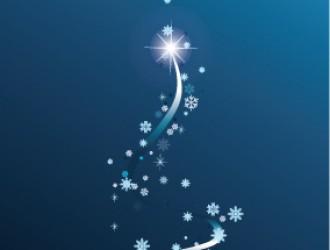 albero di Natale blu – Blue Christmas Tree