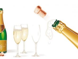 bottiglia di champagne – champagne bottle
