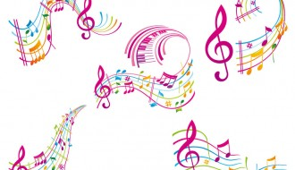 pentagramma musicale – musical staff