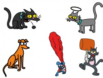 animali dei Simpson – Simpson's animals