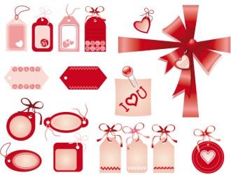 etichette di San Valentino – Valentine tags