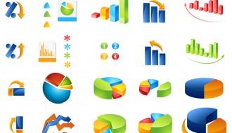 icone di grafici – graphics' icons