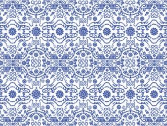 pattern a fiori e puntini – dot flower pattern
