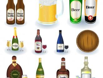 bottiglie di alcolici – bottles of alcohol