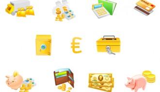 icone di monete – money icons