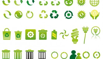 icone ecologiche – green ecology icons