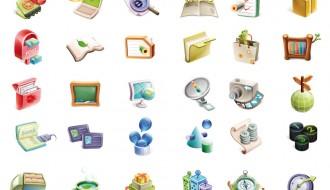 icone tridimensionali – three-dimensional icons