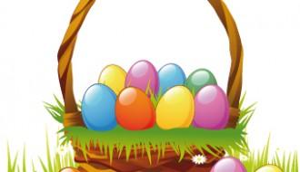 cesto con uova di Pasqua – basket with Easter eggs_1