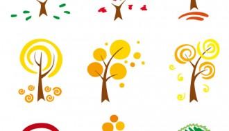 icone di alberi – trees icons