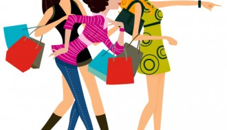 ragazze con buste – shopping girls