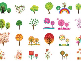 alberi e fiori – trees and flowers