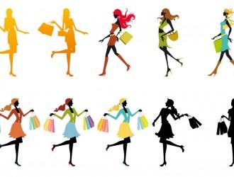 ragazze con buste – shopping girls_1