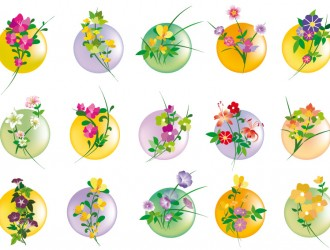 icone floreali – floral icons
