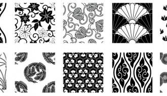 pattern in bianco e nero – white and black pattern