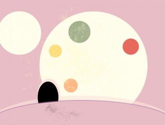 sfondo astratto con cerchi – abstract circles background