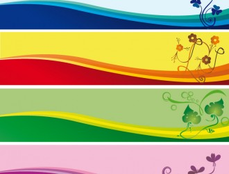 banner floreali – floral banners_1