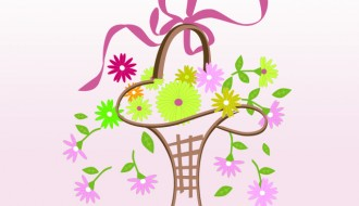 cesto di fiori – flowers basket