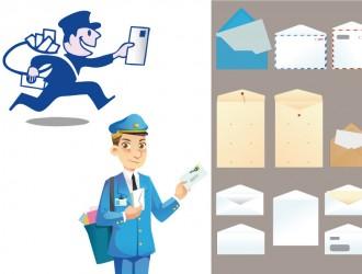 postini, buste e lettere – postmen, envelopes and letters