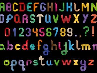 alfabeto e numeri – alphabet and numbers_2