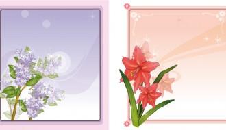 cornici floreali – floral frames