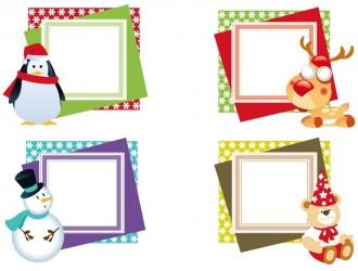 cornici natalizie – Christmas frames