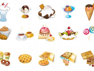 dolci e gelati – sweets and ice creams