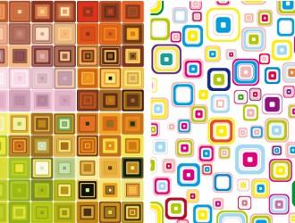 pattern retrò geometrico – geometric retro pattern