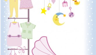 set per bambini – baby vector stock