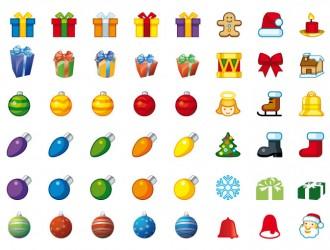icone natalizie – Christmas icons_2