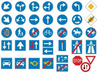 segnali di obbligo – road signs