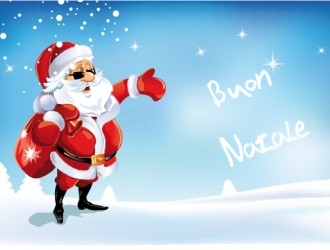 Buon Natale con Babbo Natale – Merry Christmas with Santa Claus